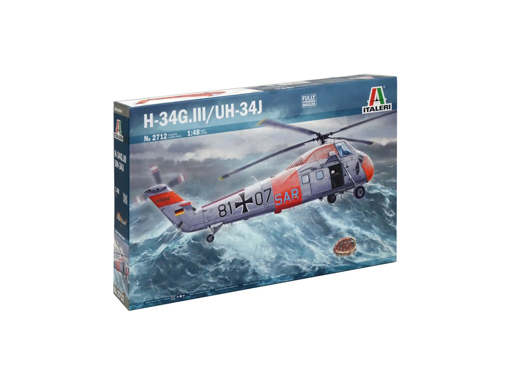 1262 model kit vrtulnik italeri 2712 uh 34j 1 48
