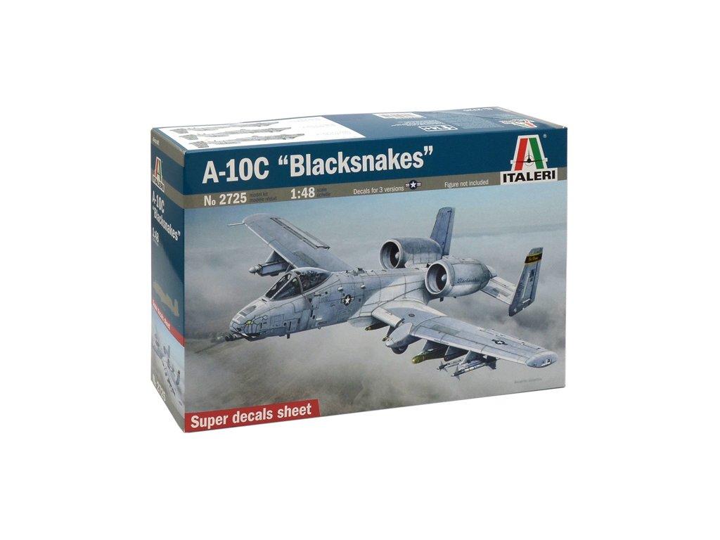 1274 model kit lietadlo italeri 2725 a 10c blacksnakes 1 48