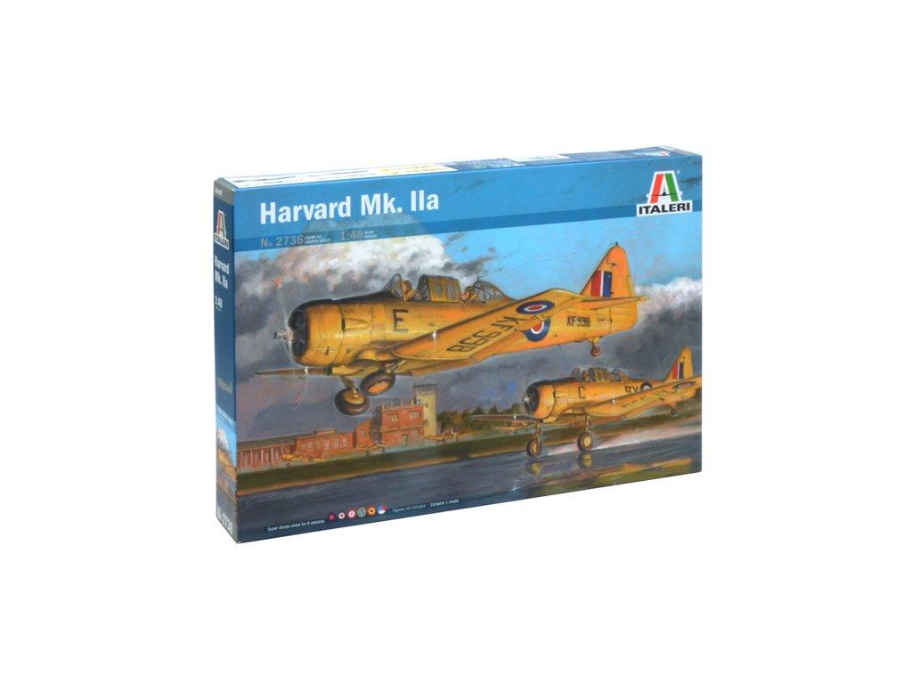 1280 model kit lietadlo italeri 2736 harvard mk iia 1 48