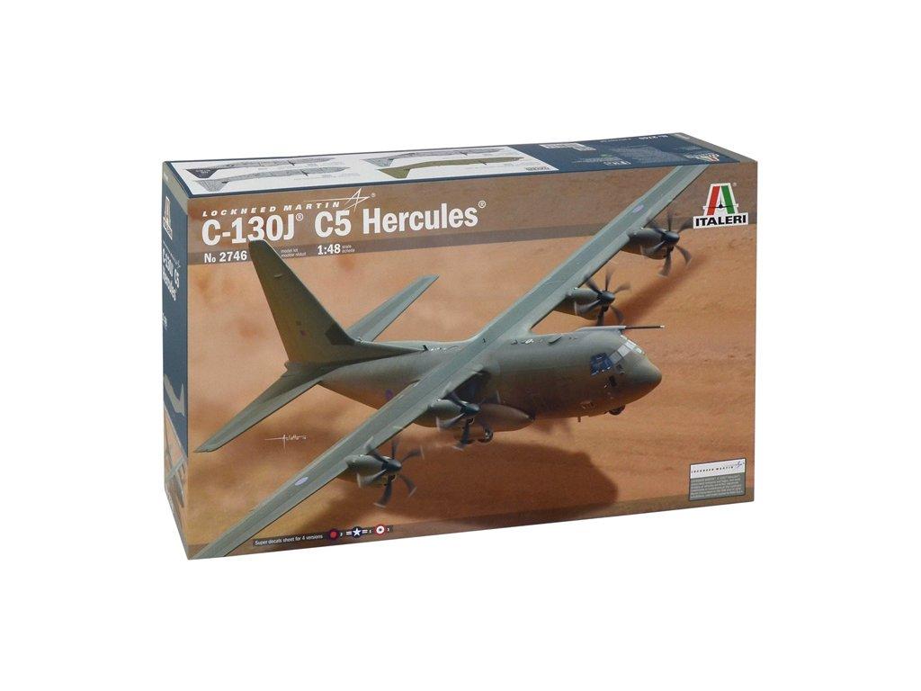 1292 model kit lietadlo italeri 2746 c 130j c5 hercules 1 48