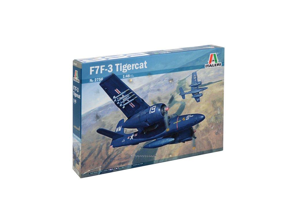 1307 model kit lietadlo italeri 2756 f7f 3 tigercat 1 48