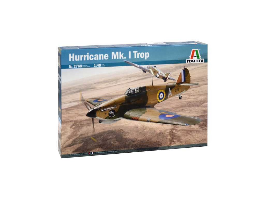 1325 model kit lietadlo italeri 2768 hurricane mk i trop 1 48