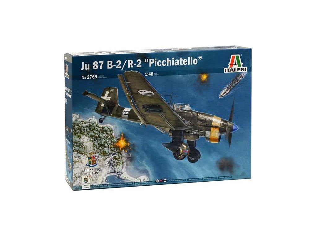 1328 model kit lietadlo italeri 2769 ju 87 b 2 r 2 picchiatello 1 48