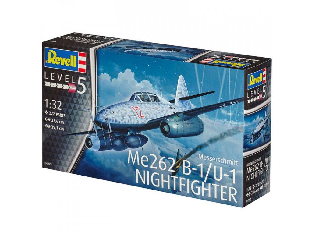 1331 plastovy model lietadlo revell 04995 messerschmitt me262 b 1 u 1 1 32