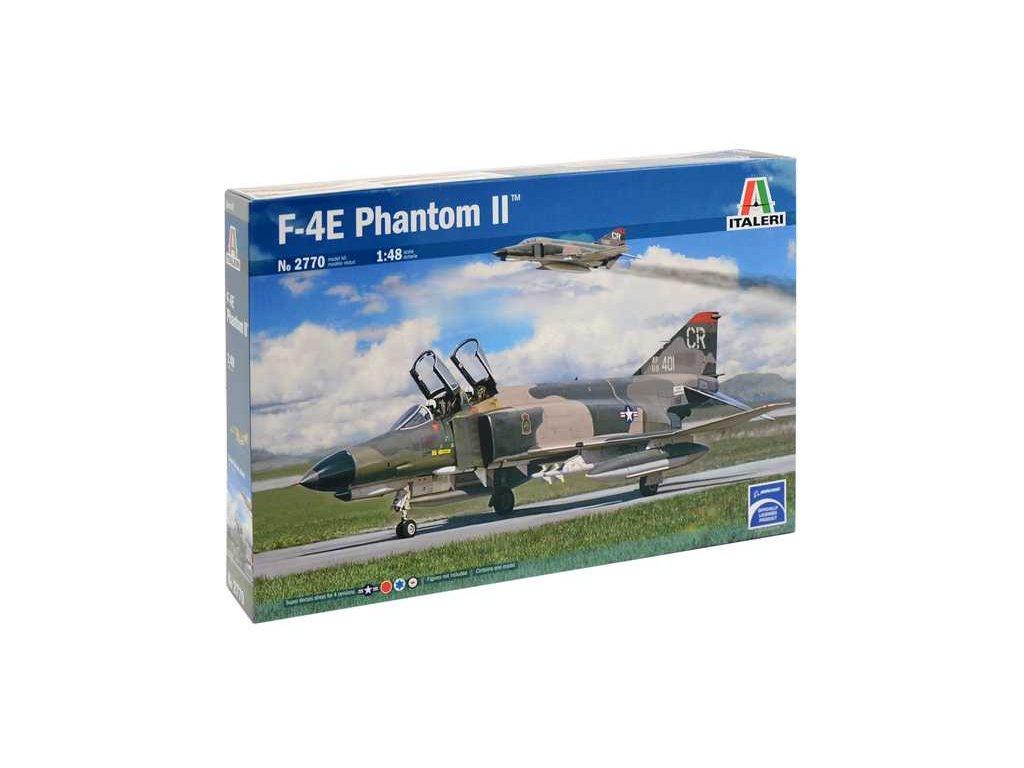 1334 model kit lietadlo italeri 2770 f 4e phantom ii 1 48