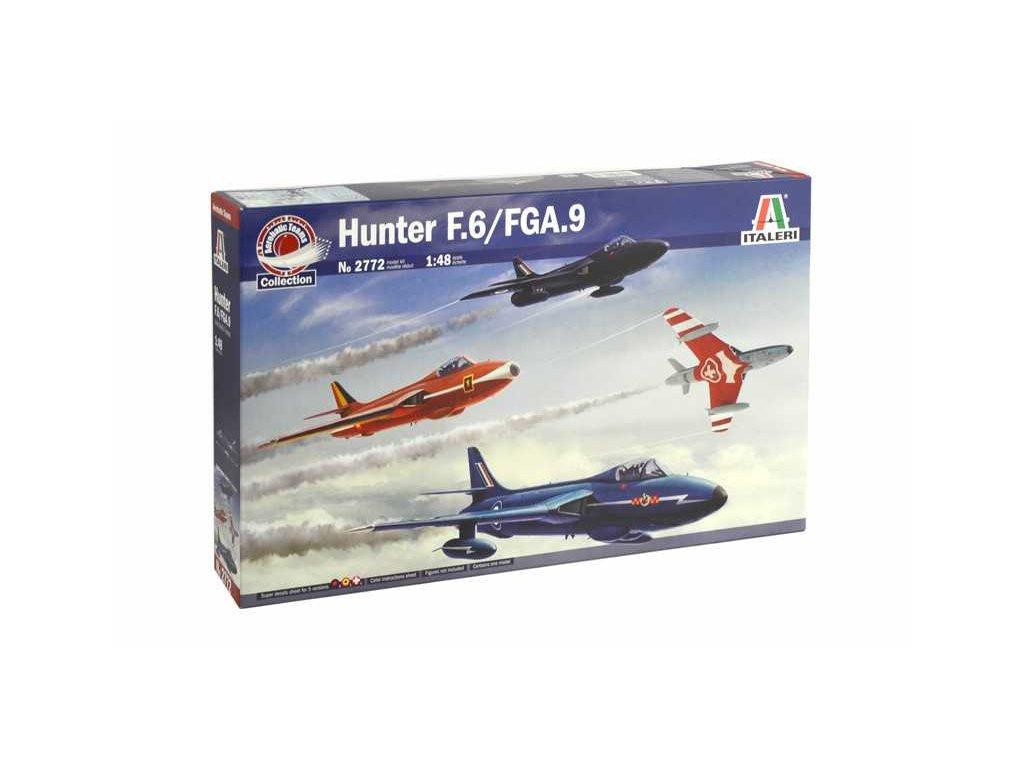 1337 model kit lietadlo italeri 2772 hunter f 6 fga 9 1 48