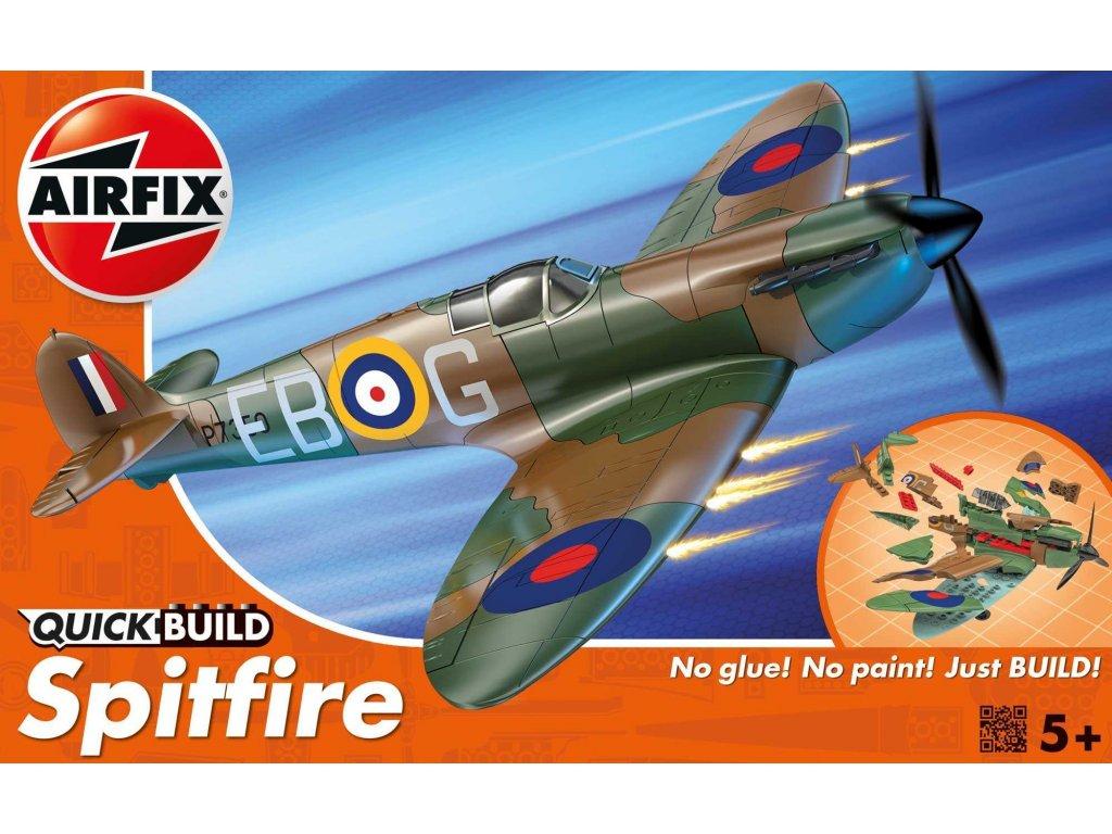 134 quick build lietadlo airfix j6000 supermarine spitfire