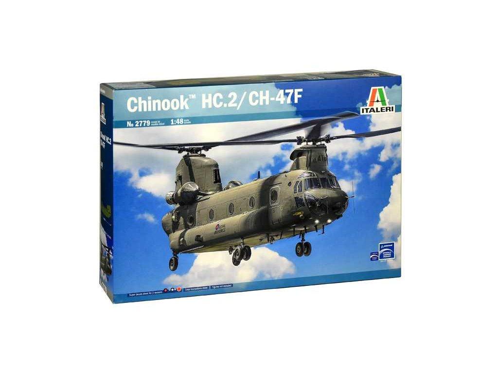 1343 model kit vrtulnik italeri 2779 chinook hc 2 ch 47f 1 48