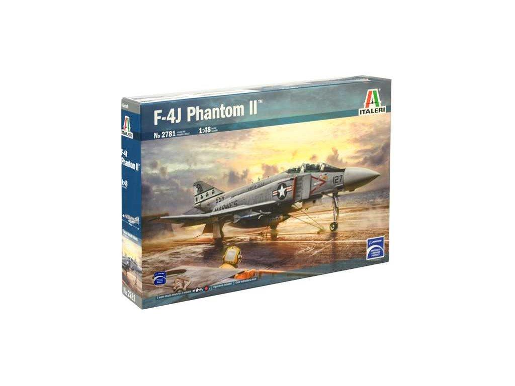 1346 model kit lietadlo italeri 2781 f 4j phantom ii 1 48