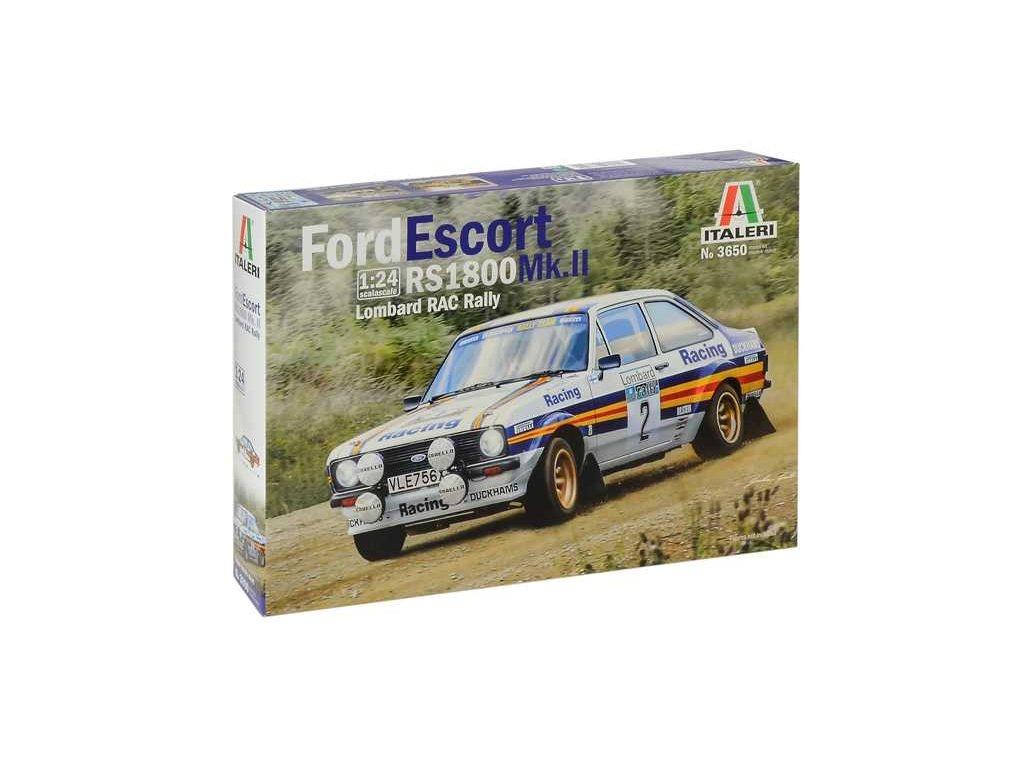 1367 model kit auto italeri 3650 ford escort rs1800 mk ii lombard rac rally 1 24