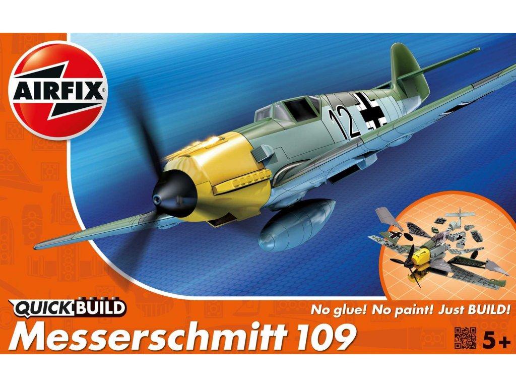 137 quick build lietadlo airfix j6001 messerschmitt 109