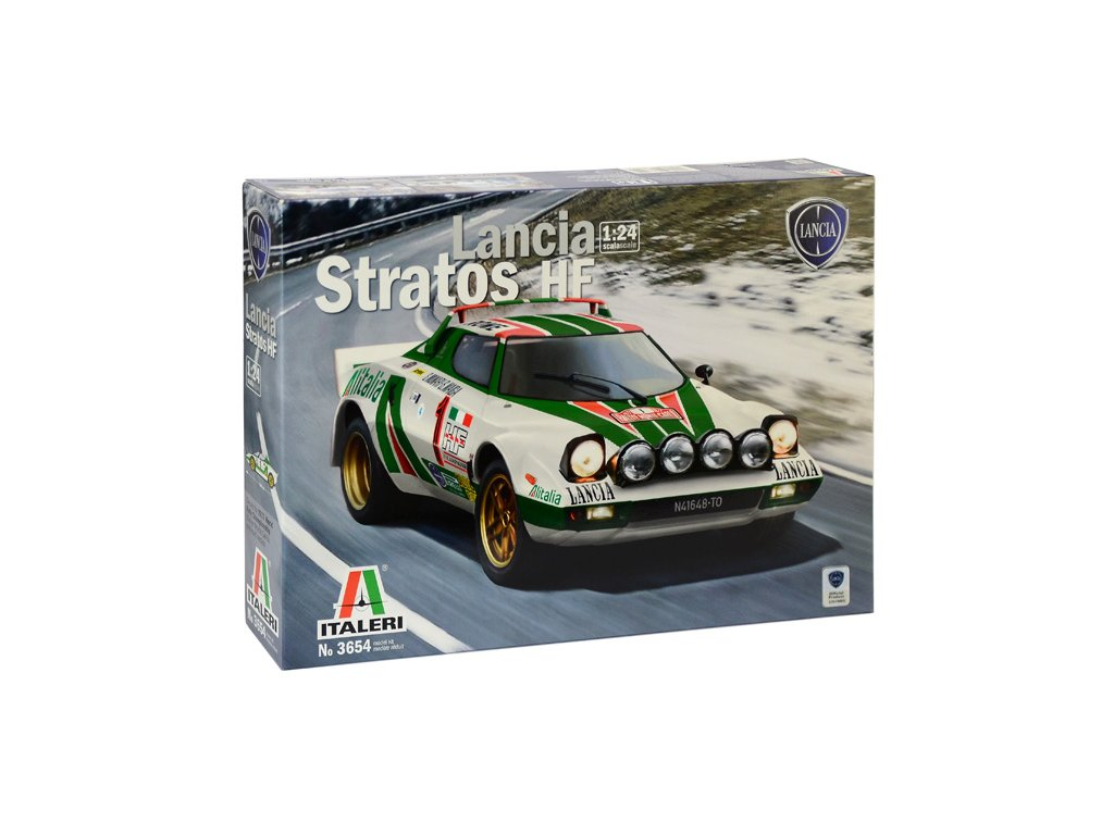 1382 model kit auto italeri 3654 lancia stratos hf 1 24