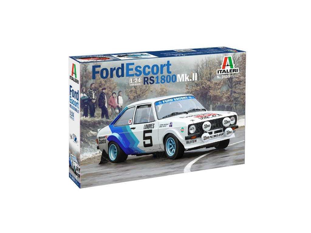 1385 model kit auto italeri 3655 ford escort rs1800 mk ii 1 24