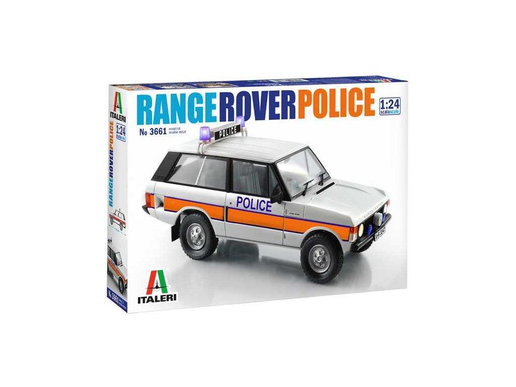 1394 model kit auto italeri 3661 police range rover 1 24