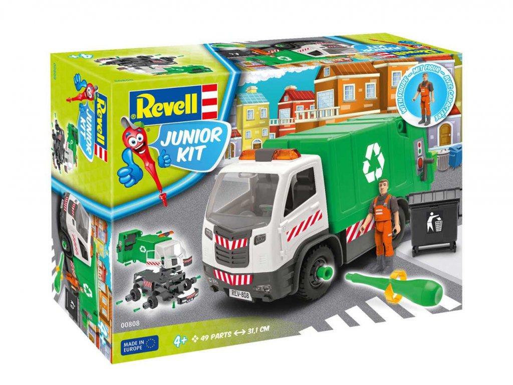 1397 junior kit auto 00808 garbage truck 1 20