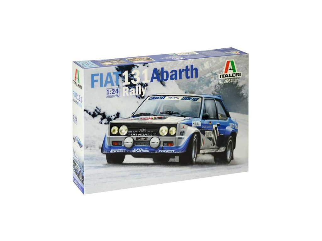 1403 model kit auto italeri 3662 fiat 131 abarth rally 1 24