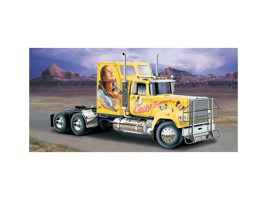 1424 model kit truck italeri 3820 american superliner 1 24