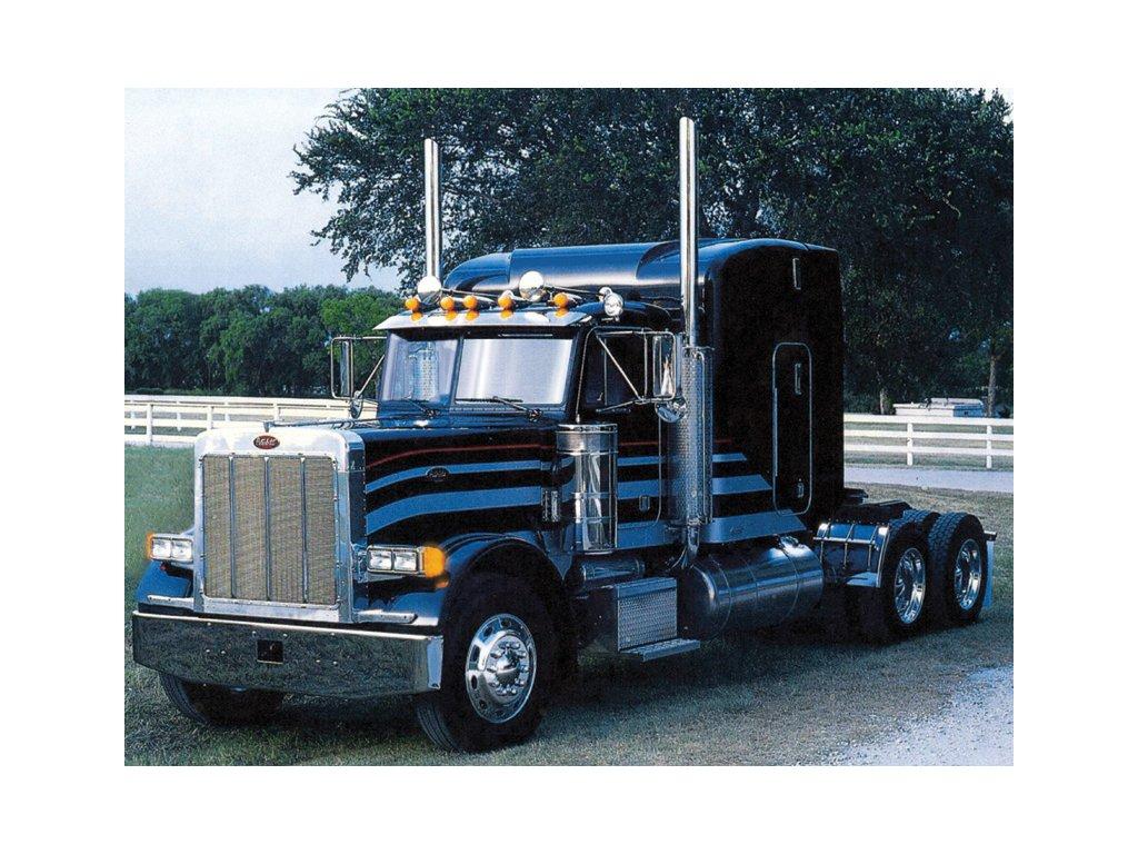 1448 model kit truck italeri 3857 classic peterbilt 378 long hauler 1 24