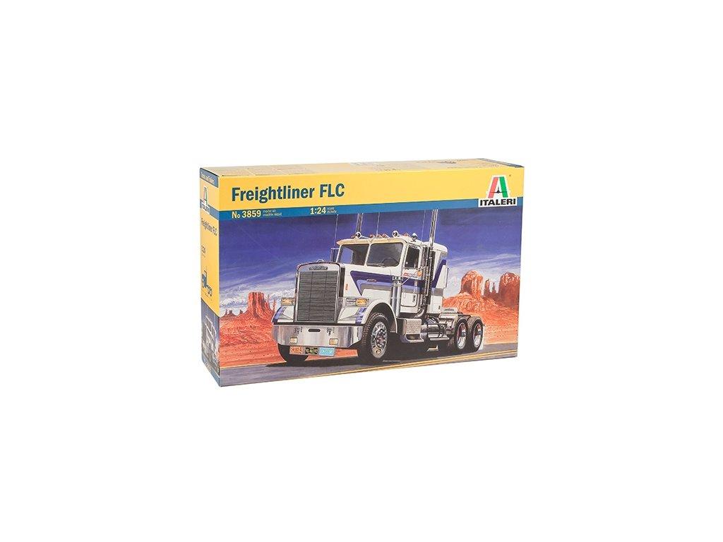 1454 model kit truck italeri 3859 freightliner flc 1 24