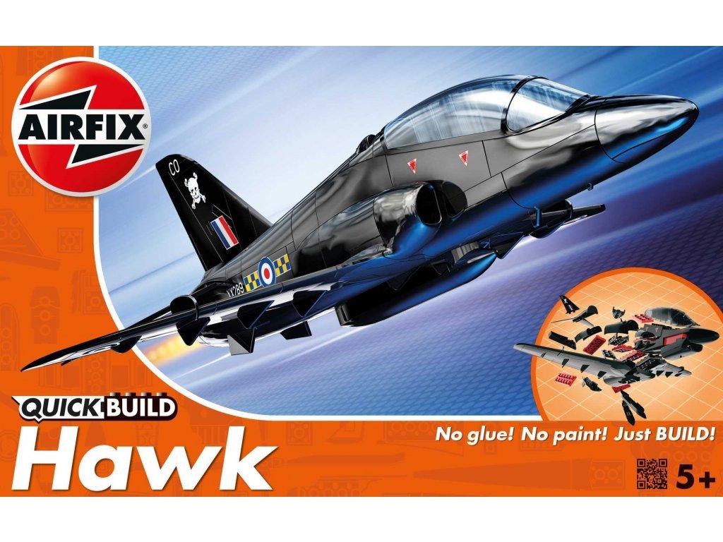 146 quick build lietadlo airfix j6003 bae hawk