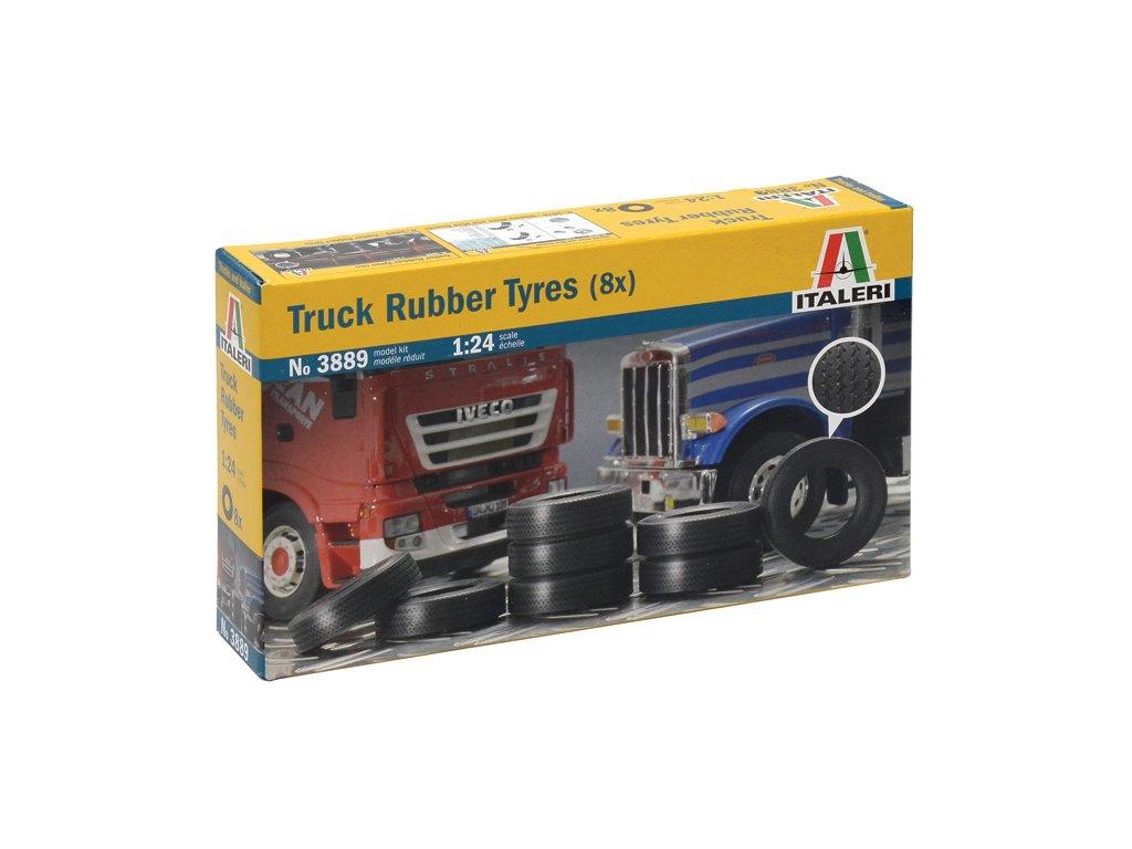 1493 model kit doplnky italeri 3889 truck rubber tyres 8x 1 24