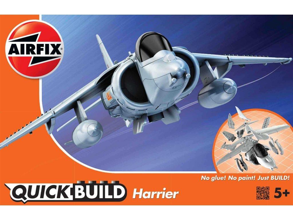 152 quick build lietadlo airfix j6009 harrier