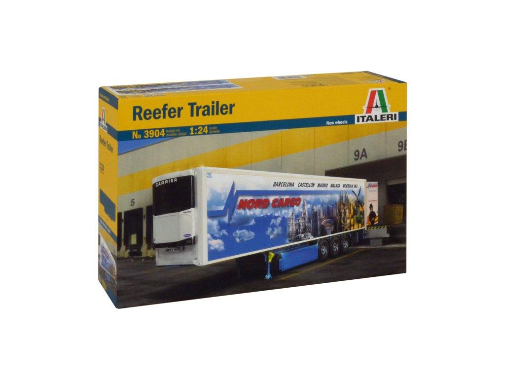 1520 model kit naves italeri 3904 reefer trailer 1 24
