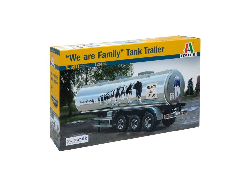 1544 model kit naves italeri 3911 classic tank trailer we are family 1 24