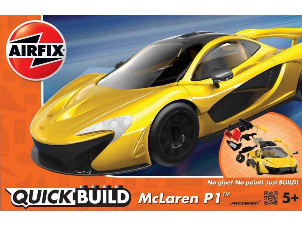 155 quick build auto airfix j6013 mclaren p1 zlta