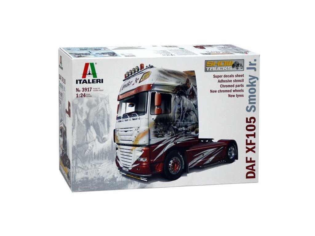 1559 model kit truck italeri 3917 daf xf 105 1 24