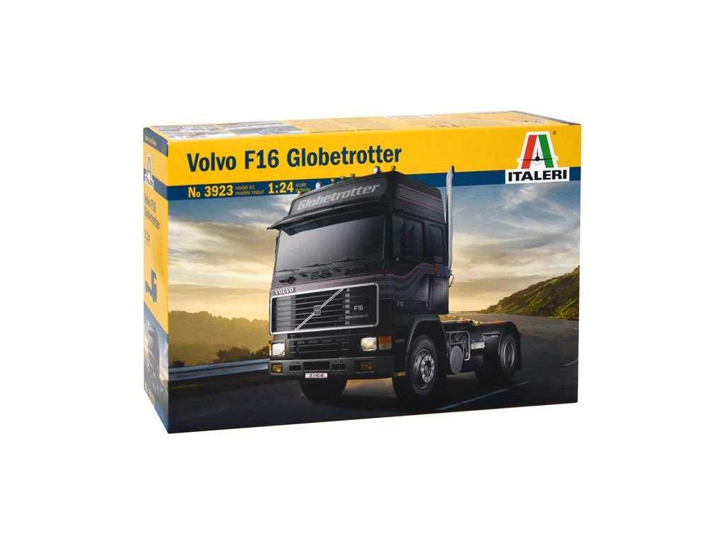 1577 model kit truck italeri 3923 volvo f 16 globetrotter 1 24