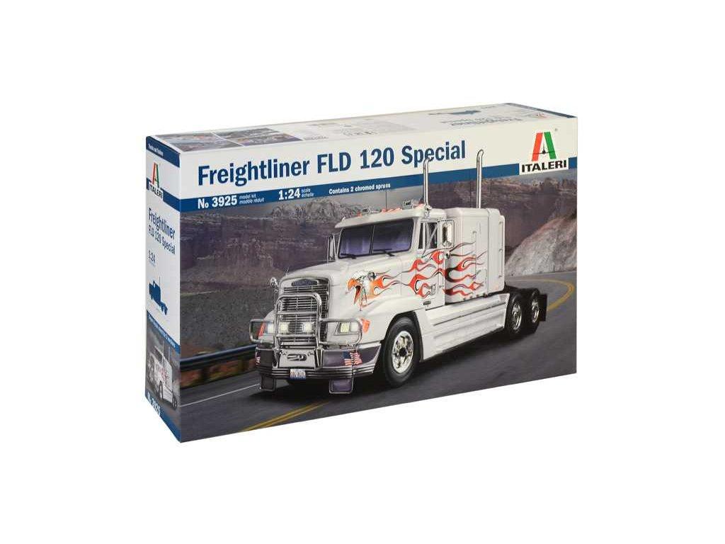 1583 model kit truck italeri 3925 freightliner fld 120 special 1 24