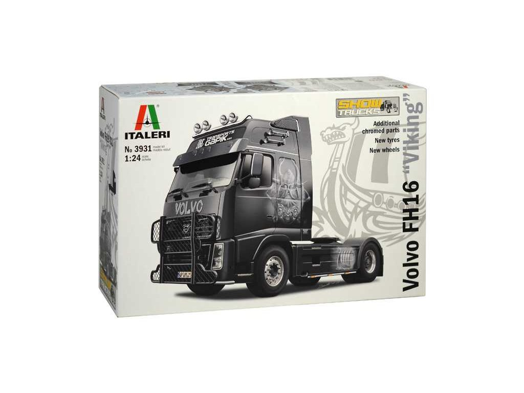 1592 model kit truck italeri 3931 volvo fh16 xxl viking 1 24