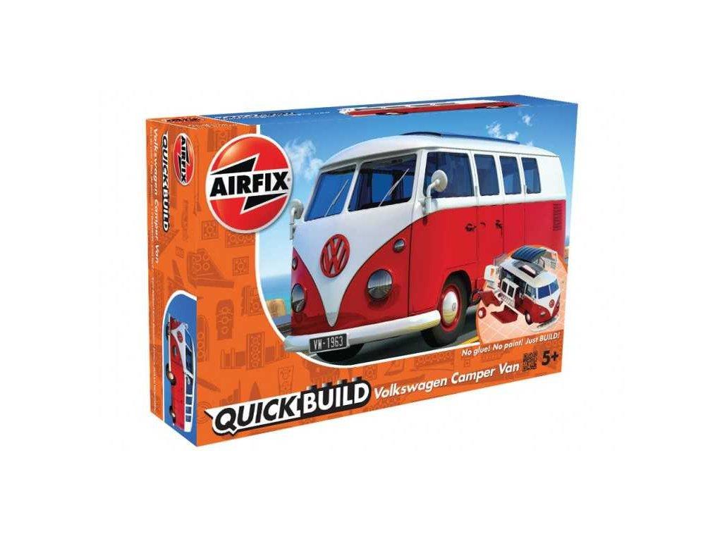 161 quick build auto airfix j6017 vw camper van