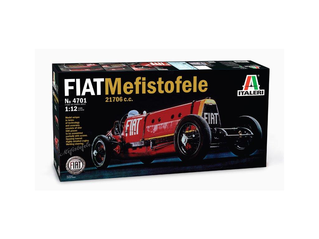 1637 model kit auto italeri 4701 fiat mefistofele 1 12