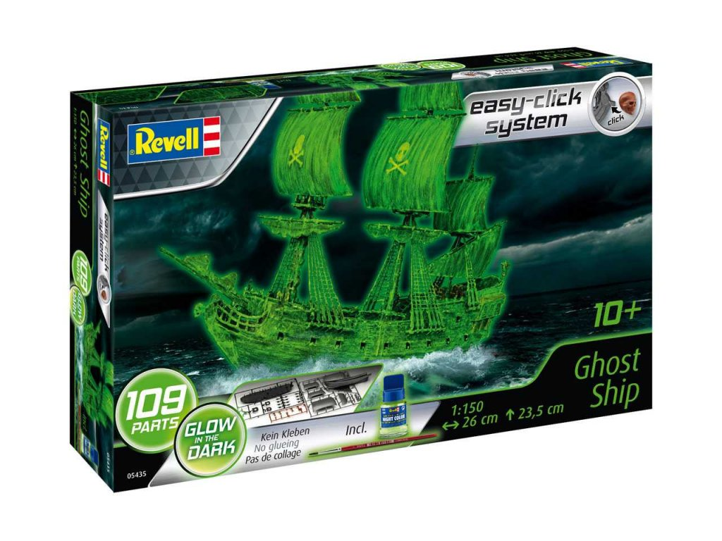 1667 easyclick lod revell 05435 ghost ship incl night color 1 150
