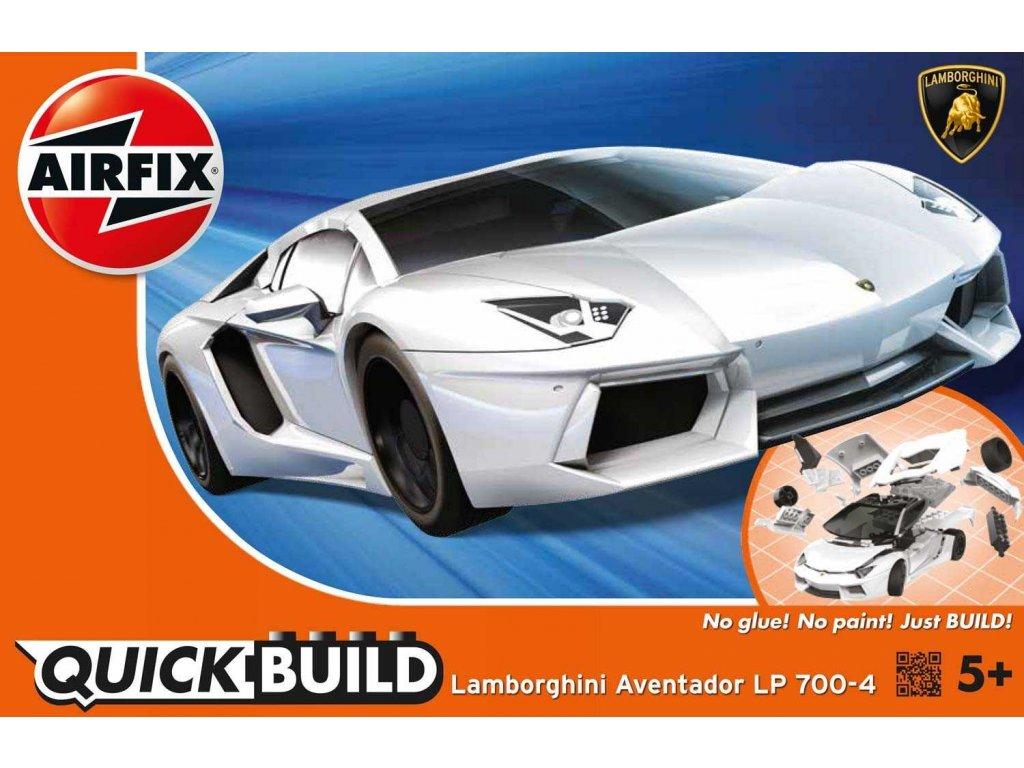 170 quick build auto airfix j6019 lamborghini aventador biela