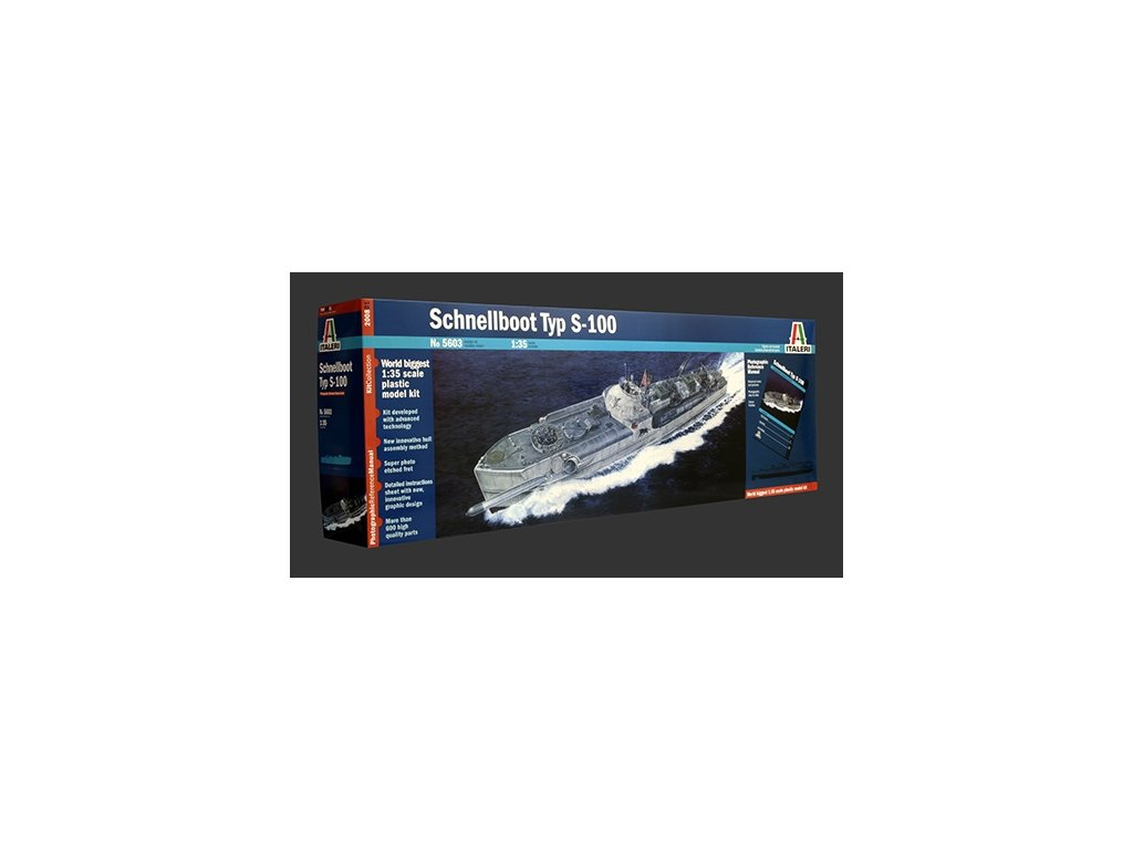 1700 model kit lod prm edice italeri 5603 schnellboot typ s 100 1 35