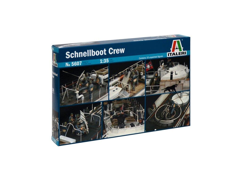 1703 model kit figurky italeri 5607 schnellboot crew 1 35