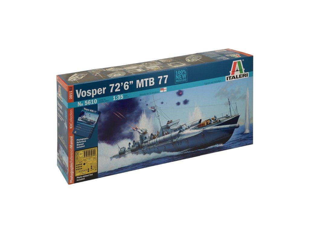 1706 model kit lod prm edice italeri 5610 vosper 72 6 mtb 77 1 35