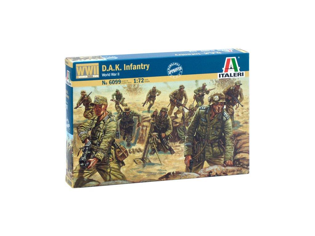 1787 model kit figurky italeri 6099 wwii d a k infantry 1 72
