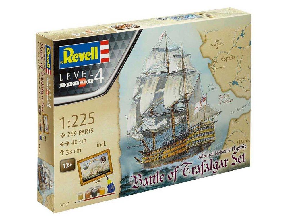 1790 darcekovy set lod revell 05767 battle of trafalgar 1 225