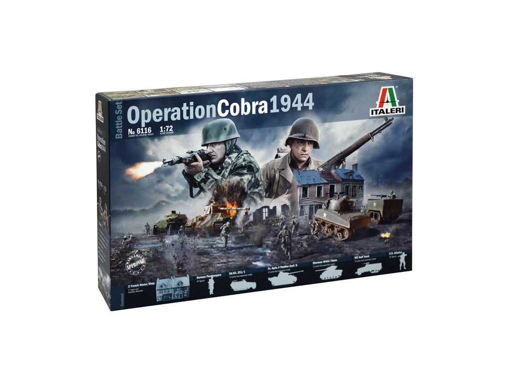 1793 model kit diorama italeri 6116 operation cobra 1944 1 72