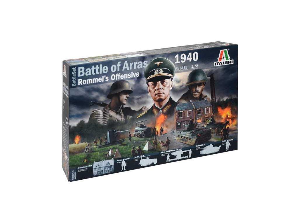 1796 model kit diorama italeri 6118 wwii battleset battle of arras 1940 1 72
