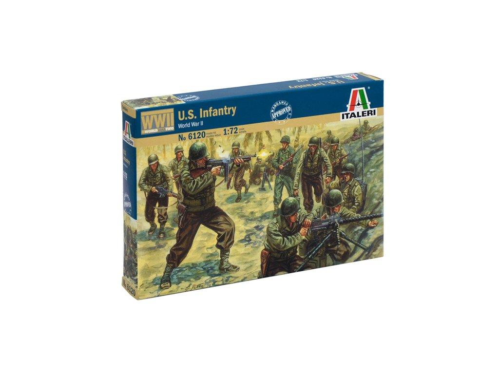 1799 model kit figurky italeri 6120 wwii american infantry 1 72