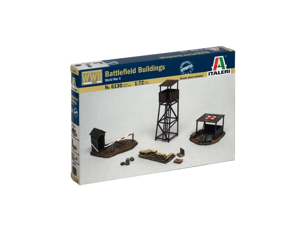 1808 model kit budova italeri 6130 battlefield buildings 1 72