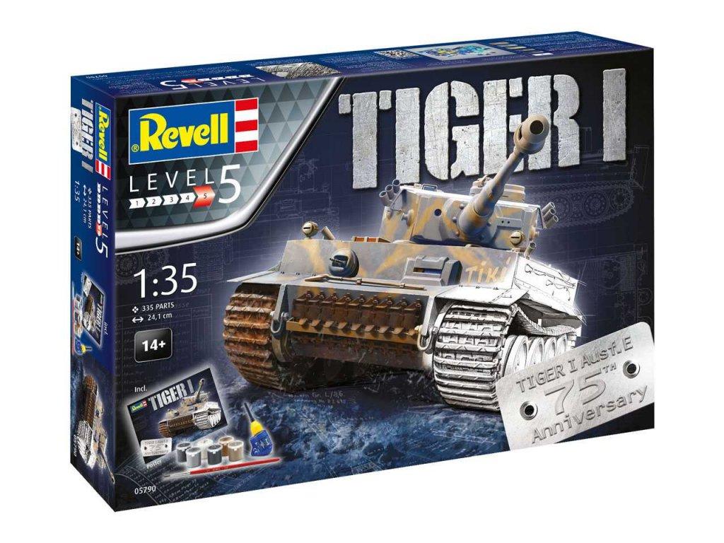 1811 darcekovy set military revell 05790 75 years tiger i 1 35