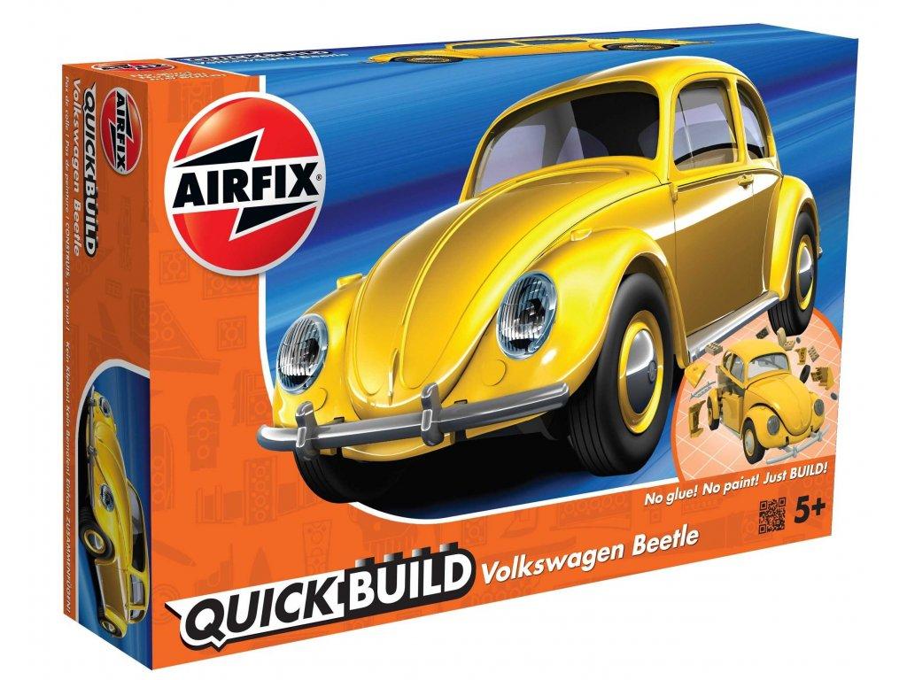 182 quick build auto airfix j6023 vw beetle zlta