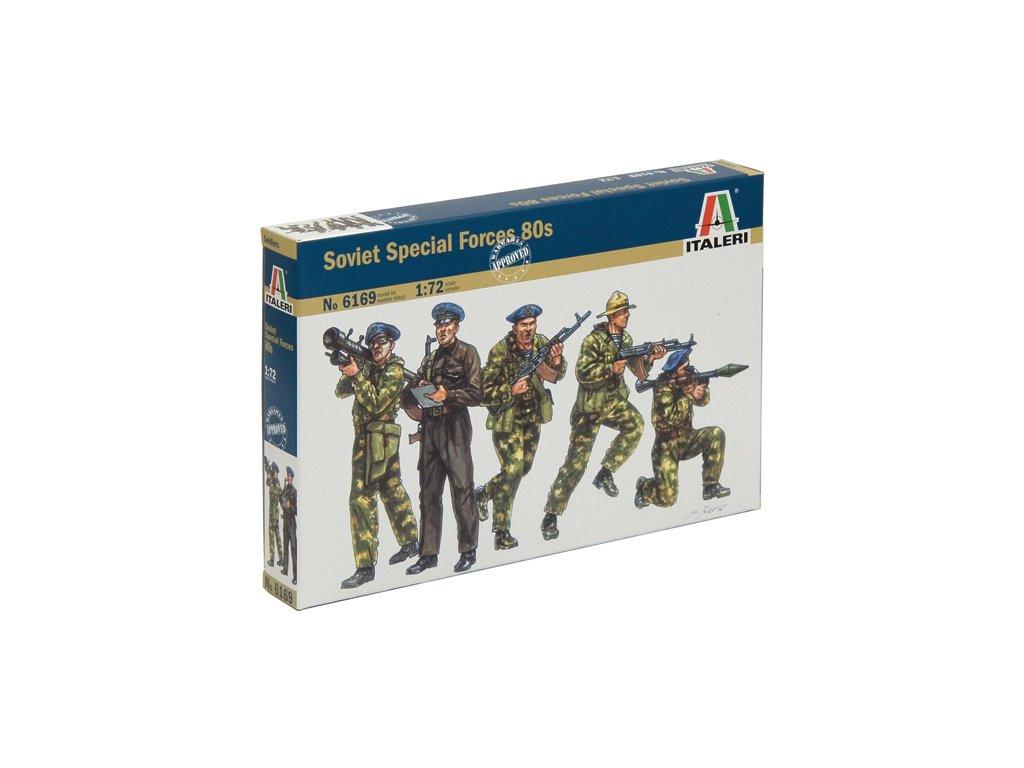 1841 model kit figurky italeri 6169 soviet special forces spetsnaz 1980s 1 72