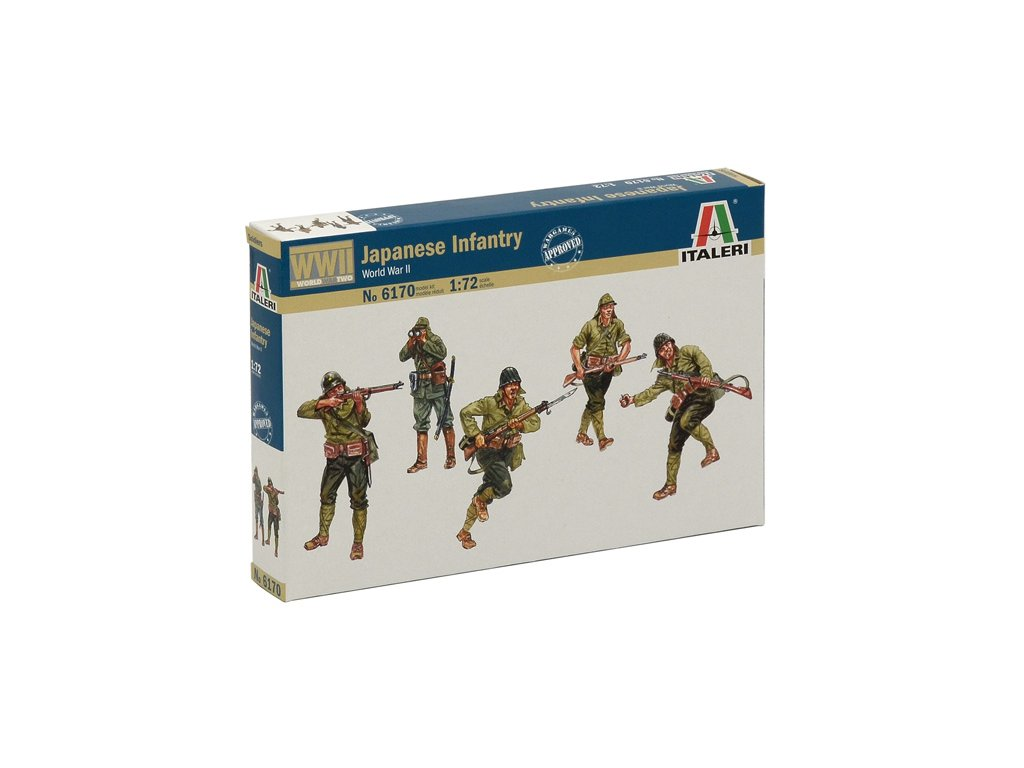 1844 model kit figurky italeri 6170 wwii japanase infantry 1 72